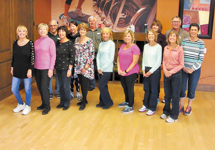 The fun at the Hacienda continued this fall with lots of happy faces. Have a happy holiday season from the Line Dance with Rebecca dancing family.
