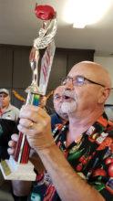 Master of Ceremonies Pete Watson