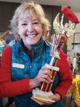 Third place winner Diane Schramm