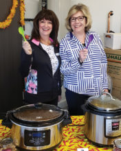Contestants Michele Musgrove (left) and Pam Englehardt