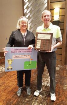 Kate and Paul Thomsen, PThomsen Consulting, LLC, SBR Couples Golf Championship sponsor.