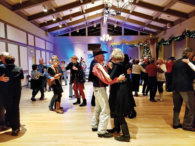 Partner's Western Dance 2019 holiday party