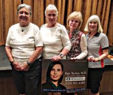 President's Cup 5th Flight winners Cheri Alfrey, Susan Pharr, Bonnie Stark, and Joanne Oliver