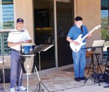 Bo Jessop and Rick, still jamming.