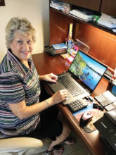 Irene Keil sends inspirational and humorous emails every day to all her friends.