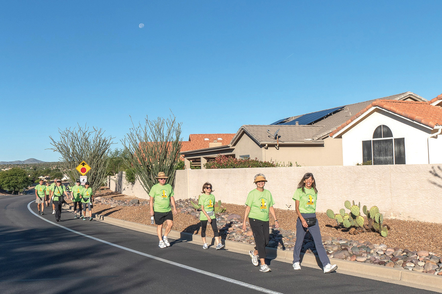 The Annual Walkathon attracts a committed group of participants and volunteers, but COVID-19 has caused the 2020 event to be canceled for the first time in 24 years.