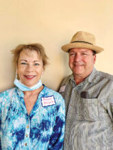 Peggy and Tom Brisch moved to SBR from Omaha. They are now at home in Unit 17.