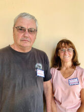 Mike and Patty Henderson moved from California to Unit 4A and consider themselves normal average people who look forward to activities at SBR.