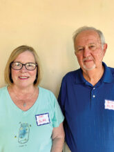 Pat and Bill Albu moved from Chicago to Unit 17. Bill wants to be involved with the Golf Association.