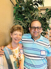 Nancy and Ben Eisenstein moved from Chicago to Unit 9. Their interests include astronomy, bird watching, and biking.
