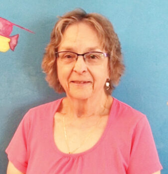Becky Tolan has been an enthusiastic Kids' Closet volunteer for the past decade.