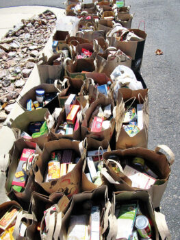 Donations of cash and food made through SBCO enable the Tri-Community Food Bank to fulfill its mission.