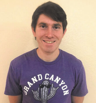 Kenneth Palmer is a grateful SBCO scholarship recipient now in his senior year at Grand Canyon University.