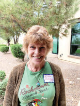 Eileen Glasby comes to us from Golden, Colo. She enjoys all things nature including gardening. Her other interests include music and painting. She's at home now in Unit 17.