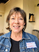 Gerri Dawes enjoys making jewelry and working in the pottery studio. Another interest is playing card games. After living in Florida and California, she is now home in Unit 14A.