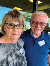 Shirley and Bob Lewis from Washington State have been retired for 14 years. RV travel is a favorite of theirs, but they are eager to become more involved with the many activities at SBR. They are at home in Unit 16B.
