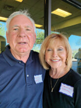 Kevin Kelly and Sandra Sherman from Portland, Ore. now live in Unit 14A. Besides golfing and oil painting, they love to walk. Also high on their list of activities are cooking, entertaining, and socializing.