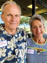 Wayne and Debra McGiboney from Texas have lots of time to pursue their interests of working out in the gym, walking, swimming, and attending happy hour. They live in Unit 14B.