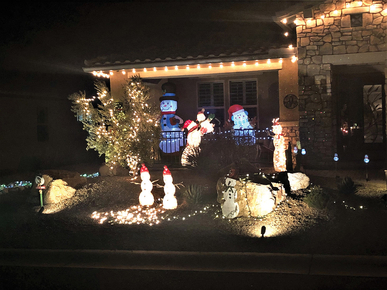 Miscellaneous holiday decorations at SBR (Photos by Leslie Brown)