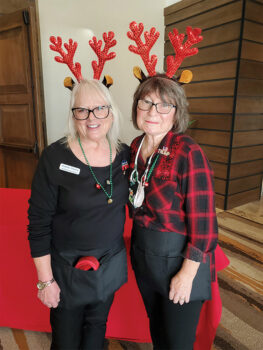 Debbie Treacy (left) and Deena Ream-Robinson