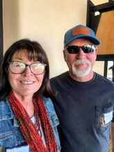 Sherry and Mike Smith come to SBR from Colorado. They are pickleball players and enjoy off-roading. They live in Unit 4B.