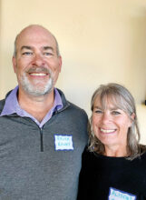 Bruce and Alison Haney from Michigan love to travel. A trip to South Africa was their favorite adventure. They even lived in England for two years. Being retired in SBR, away from the crowds and heat of Phoenix is making retired life a happy experience. They are new to Unit 17.