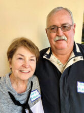 Ingrid and Mike McManus from southern California are home in Unit 10. Ingrid has joined the Lady Niners for golf and Mike enjoys writing novels. They both have fun with karaoke.