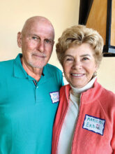 Ron and Marilyn Erdei already knew SBR people before they moved into Unit 9 from their home in Anaheim Hills, Calif. They plan to make more friends through crafting, putters, and a wine club.