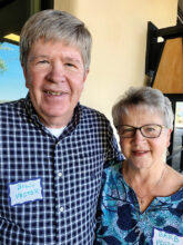 Bill and Barb Vegter are snowbirds from Michigan. Barb enjoys crafting, beading, glassware, and anything creative. Bill is an active Rotarian. They have a home in 14B.
