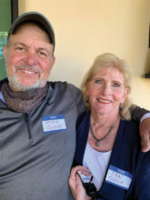 Mike and Jan Close in Unit 14B are snowbirds from Washington. They are here to enjoy pickleball, lapidary, woodworking, and off-roading. They hope to meet people in the NW Club and Colorado Club.