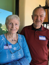 Sandra and Richard Inglefield moved to Unit 10 from the Denver area. Their interests include photography, painting, and playing mahjongg.
