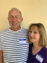 Dann and Kim Denny found SBR online from Indiana. They enjoy pickleball, gardening, square dancing, and teaching fitness. They live in 14B.