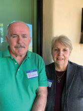 Bob and Sue Delehanty are at home in Unit 17 since moving from Texas to be near their daughter in Tucson.
