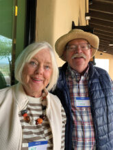 Lucy and Hans Lange are happy to leave the California fires behind and make their home in Unit 16C. They grow herbs and enjoy gardening. Their favorite vacations are cruises—rivers, as well as the high seas.