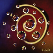 Water Droplets - Colorful Spiral (Photo by Bob Hills)