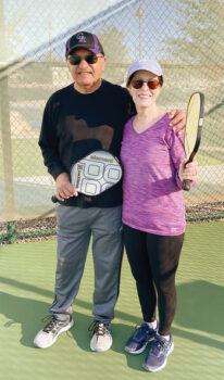 Andy and Judy Abadia (Photo by Debbie Witten)