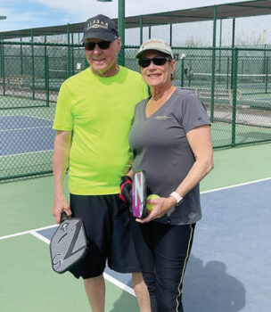 Linda and Randy Wright (Photo by Debbie Witten)