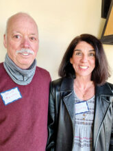 David and Jill Moretto from Massachusetts are now home in Unit 17. Jill enjoys cycling and hiking. Dave is interested in pickleball and woodworking.