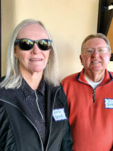 Kathi and Jim Dyer from California are at home in Unit 10. They already have new friends through pickleball.