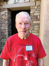 John Beals likes to stay active with golf, pickleball, and working out in the gym. He now lives in Unit 46A after moving from Oregon.