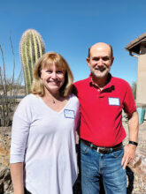 Cheryl Hargett and Mark Johnson lived in Tucson years ago before moving to Washington State. Coming to SaddleBrooke Ranch is almost like returning home. They love the pool and golf and are at home in Unit 10.