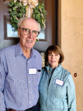Roger and Marsha Lindeken lived in Saudia Arabia and Nevada before settling into Unit 9. He is in Rotary and Marsha plays mah jongg, golf, pickleball, and bocce ball.