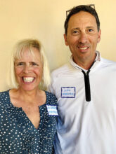 Elizabeth and Lou Mastro recently from California are at home in Unit 6. Elizabeth plays bocce ball, pickleball, and likes to run. She also rescues labrador retrievers. Aside from work, Lou has taught financial literacy to high school and college students.