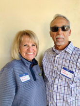 Marilyn Heasley and Jim Lukacs are snowbirds from Washington State. Jim loves all the amenities and community sports. His interest is lapidary. Marilyn is a golfer and loves socializing. They live in Unit 3.
