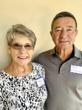Carol and Rod Linville, from Southern California, enjoy playing golf. Crafts and sewing interest Carol. Rod is retired Navy. They are at home in Unit 14B.