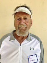 """Bill Wells, from Oregon, is now a """"rainbird,"""" rather than the typical snowbird. He is looking forward to playing pickleball, hiking, and enjoying the mountain views. His home is in Unit 4A."""