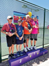 (Pool 2) Gold: Rob Densmore and Larry Burchfield Silver: Bill Fisher and Craig Bauer Bronze: Ernest Wolf and Walt Ruzick