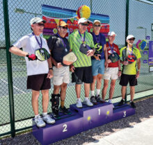 Gold: Dann Denny and Norbert Weisbeck Silver: Mike Duwe and Joe Sentivanac Bronze: Michael Healy and Larry Strugala