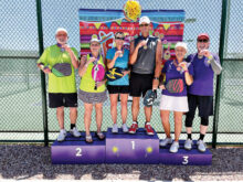 (Pool 2) Gold: Bob Soucek and Deb Lawson Silver: Ed Harris and Evelyn Silver Bronze: Gil Logan and Lupe Cook
