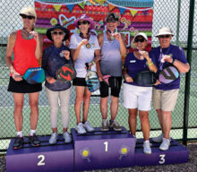 Gold: Gayle O'Connell and Consuelo Melhuish Gold: Lori Page and Raynelle Duhl Silver: Karen Bellinger and Denise Baker Bronze: Caroline Ann Engraff and Sue Hanson